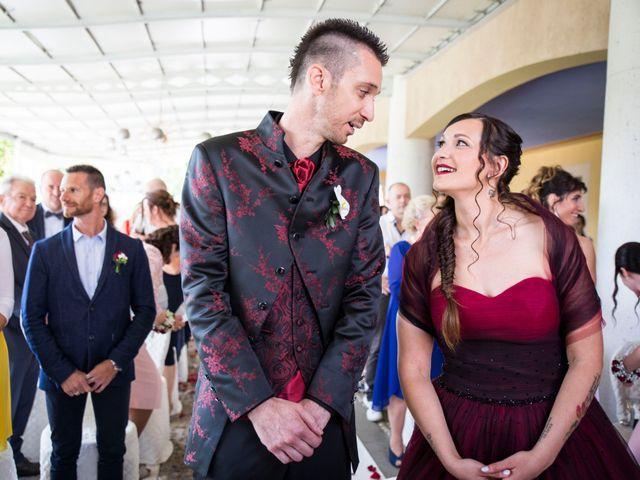 Il matrimonio di Daniele e Laura a Erbusco, Brescia 6