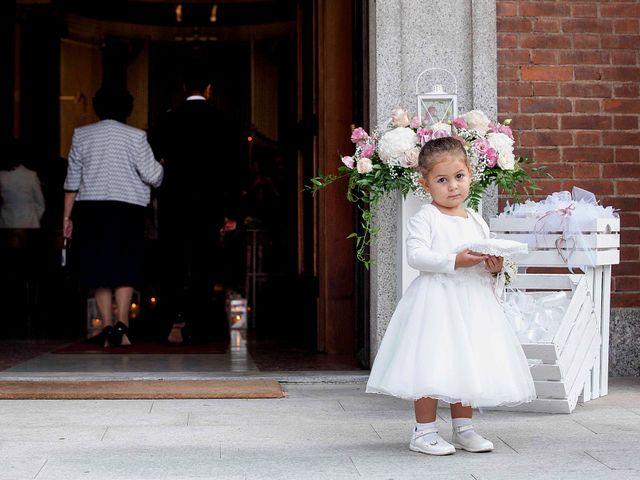 Il matrimonio di Davide e Monica a Lesmo, Monza e Brianza 13
