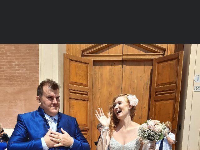 Il matrimonio di Simone e Brenda a Sant'Agostino, Ferrara 7