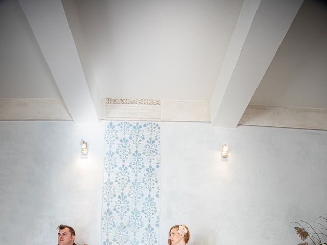 Il matrimonio di Simone e Brenda a Sant'Agostino, Ferrara 9