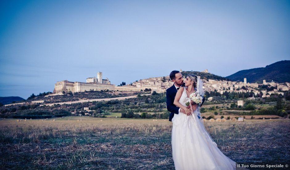 Il matrimonio di Flavio e Matilde a Assisi, Perugia