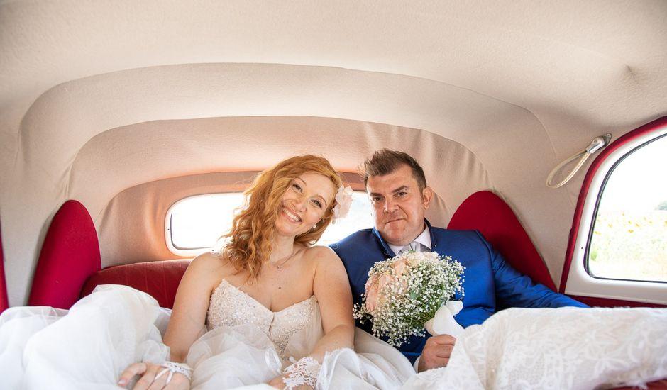 Il matrimonio di Simone e Brenda a Sant'Agostino, Ferrara