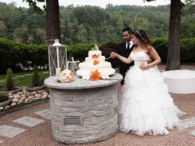 Il matrimonio di Fabio e Irene a Bareggio, Milano 37