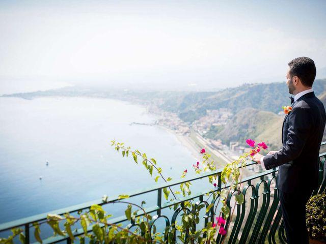 Il matrimonio di Sara e Michele a Taormina, Messina 3