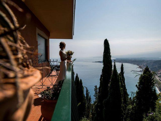 Il matrimonio di Sara e Michele a Taormina, Messina 4