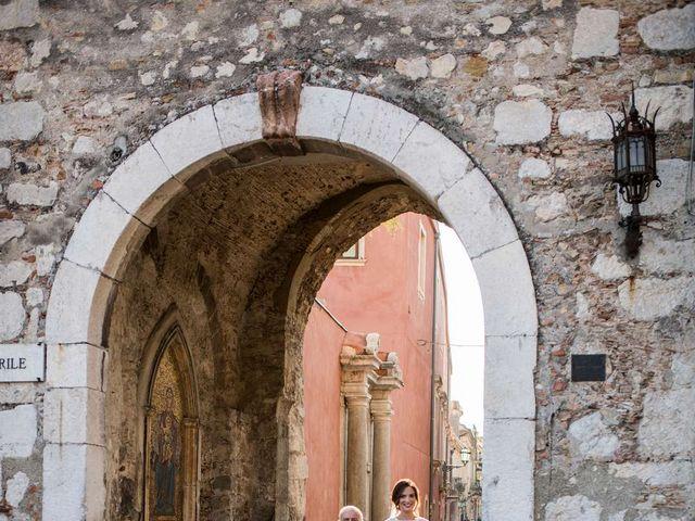 Il matrimonio di Sara e Michele a Taormina, Messina 9