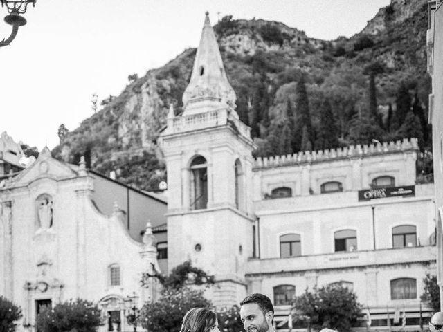 Il matrimonio di Sara e Michele a Taormina, Messina 16