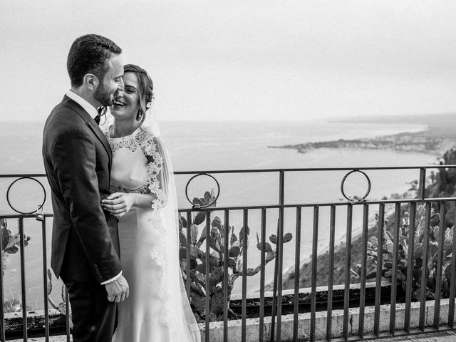 Il matrimonio di Sara e Michele a Taormina, Messina 17