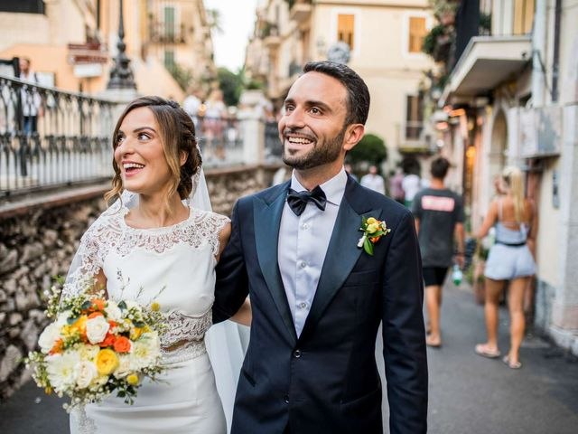 Il matrimonio di Sara e Michele a Taormina, Messina 19