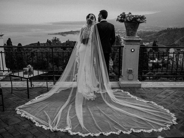 Il matrimonio di Sara e Michele a Taormina, Messina 24