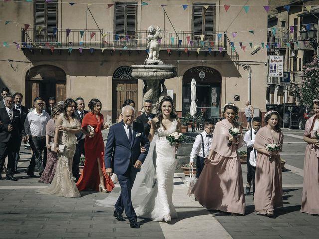 Il matrimonio di Debora e Angelo a Vallelunga Pratameno, Caltanissetta 59