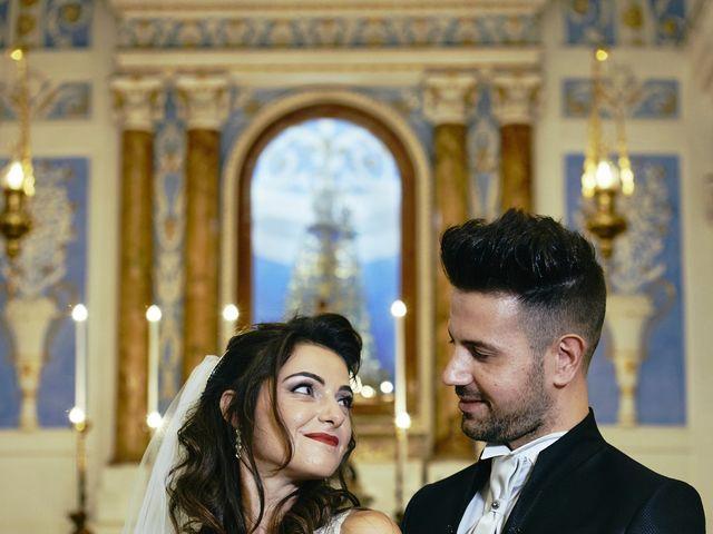 Il matrimonio di Debora e Angelo a Vallelunga Pratameno, Caltanissetta 67
