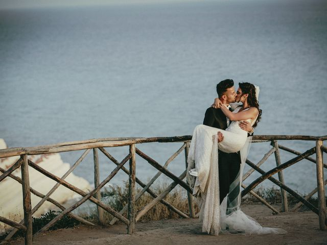 Il matrimonio di Debora e Angelo a Vallelunga Pratameno, Caltanissetta 76