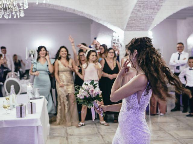 Il matrimonio di Debora e Angelo a Vallelunga Pratameno, Caltanissetta 94