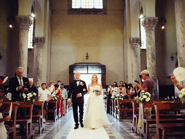 Il matrimonio di Giacomo e Cristina a Forte dei Marmi, Lucca 35