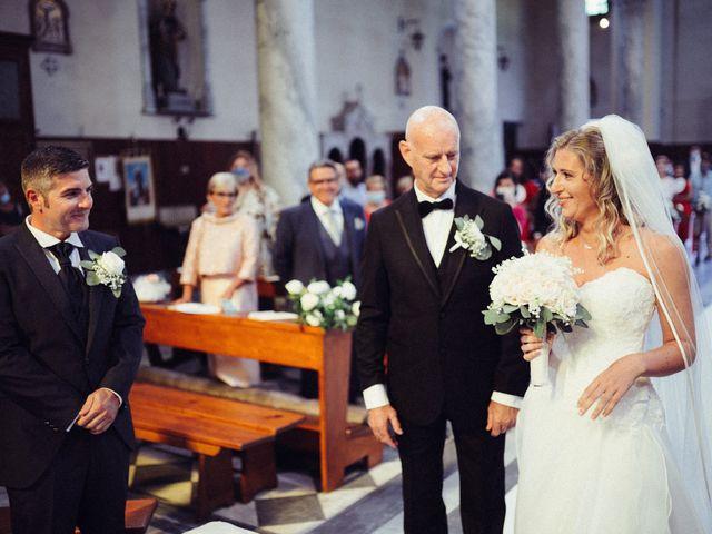 Il matrimonio di Giacomo e Cristina a Forte dei Marmi, Lucca 37