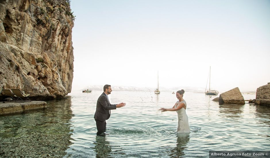 Il matrimonio di Gioacchino e Christel a Castellammare del Golfo, Trapani
