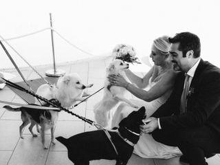 Le nozze di Sabrina e Cristiano