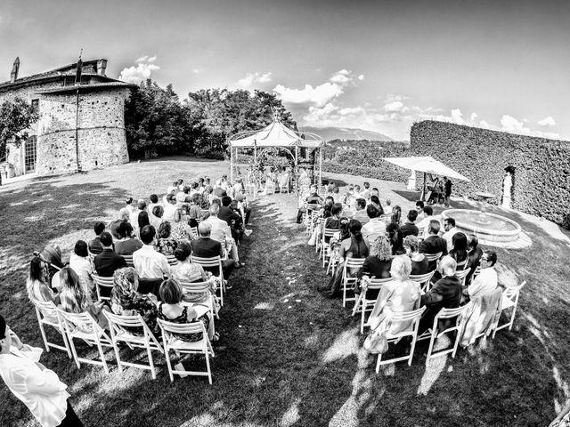 Il matrimonio di Francesco e Veronica a Cernusco Lombardone, Lecco 36