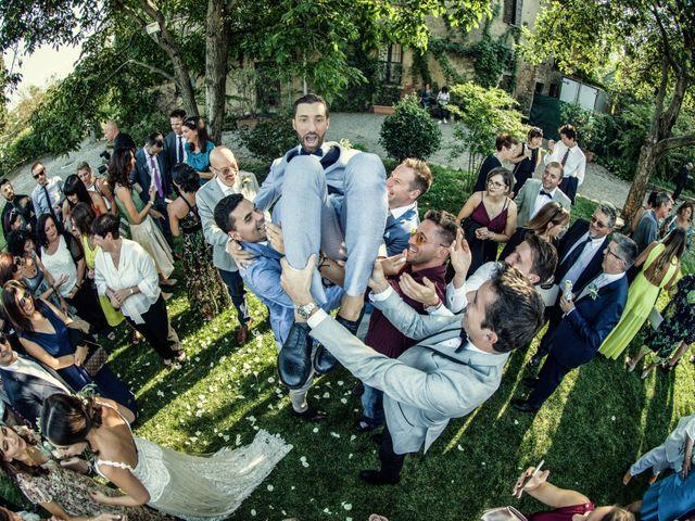 Il matrimonio di Francesco e Veronica a Cernusco Lombardone, Lecco 48