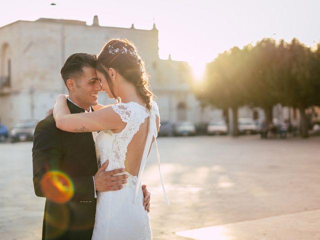 Il matrimonio di Davide e Alessandra a Scorrano, Lecce 72