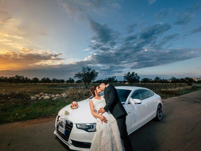 Il matrimonio di Davide e Alessandra a Scorrano, Lecce 79