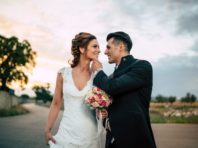 Il matrimonio di Davide e Alessandra a Scorrano, Lecce 83