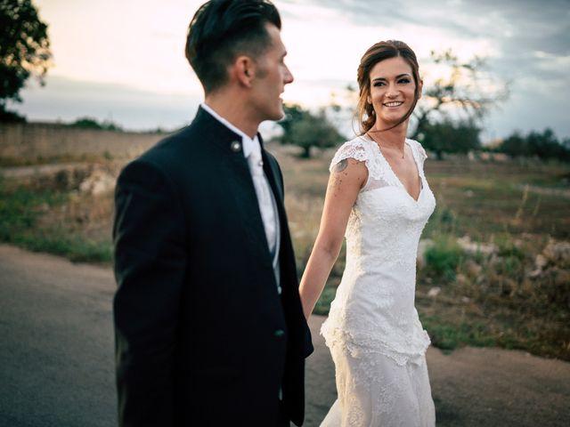 Il matrimonio di Davide e Alessandra a Scorrano, Lecce 86