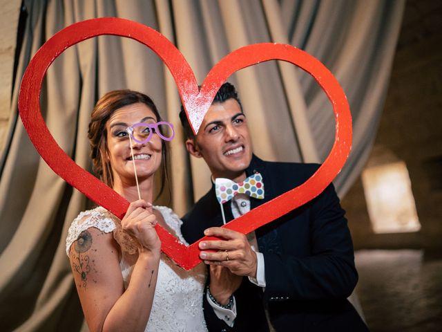 Il matrimonio di Davide e Alessandra a Scorrano, Lecce 123