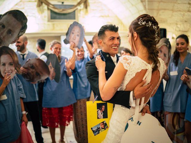 Il matrimonio di Davide e Alessandra a Scorrano, Lecce 137