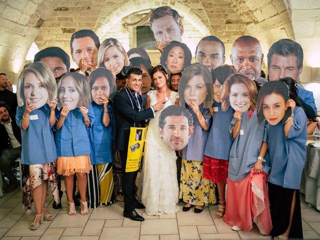 Il matrimonio di Davide e Alessandra a Scorrano, Lecce 139