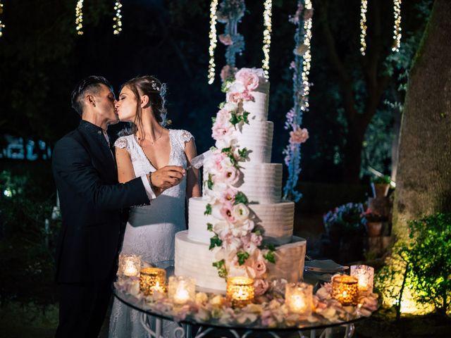 Il matrimonio di Davide e Alessandra a Scorrano, Lecce 143