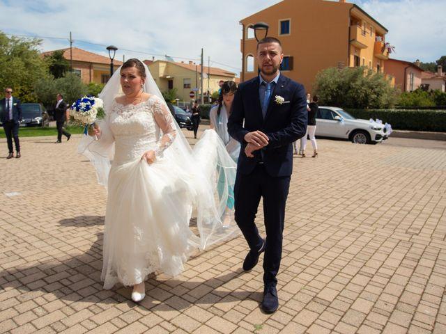 Il matrimonio di Massimo e Cosmina a Olbia, Sassari 46