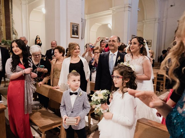 Il matrimonio di Valentino e Giovanna a Nova Siri, Matera 15