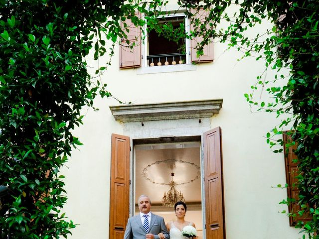 Il matrimonio di Andrea e Elisa a Trivignano Udinese, Udine 14
