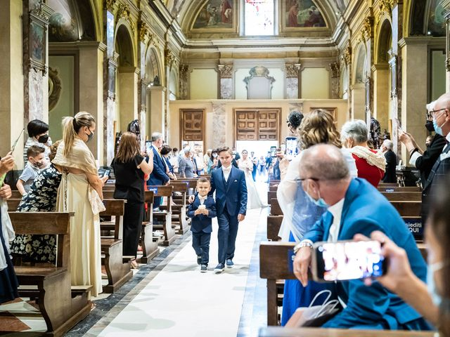 Il matrimonio di Francesco e Martina a Stezzano, Bergamo 13