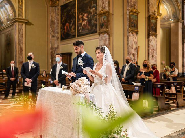 Il matrimonio di Francesco e Martina a Stezzano, Bergamo 20
