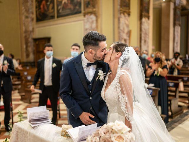 Il matrimonio di Francesco e Martina a Stezzano, Bergamo 21
