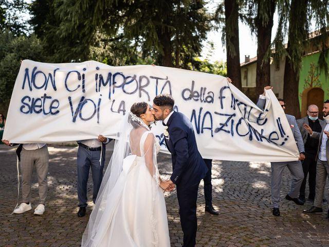 Il matrimonio di Francesco e Martina a Stezzano, Bergamo 24