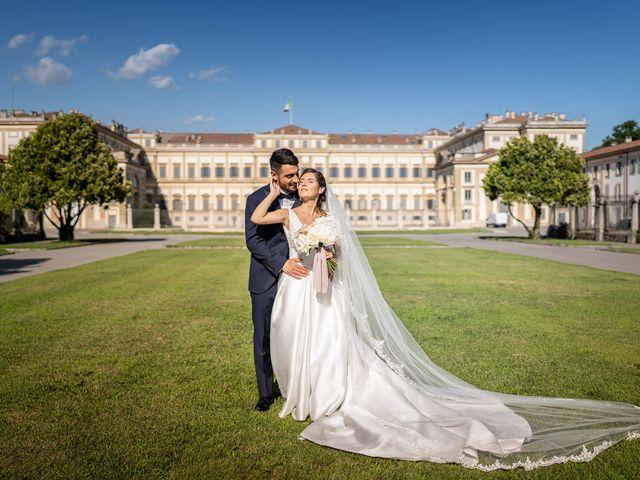 Il matrimonio di Francesco e Martina a Stezzano, Bergamo 27