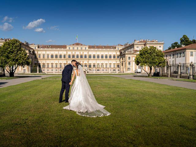 Il matrimonio di Francesco e Martina a Stezzano, Bergamo 28