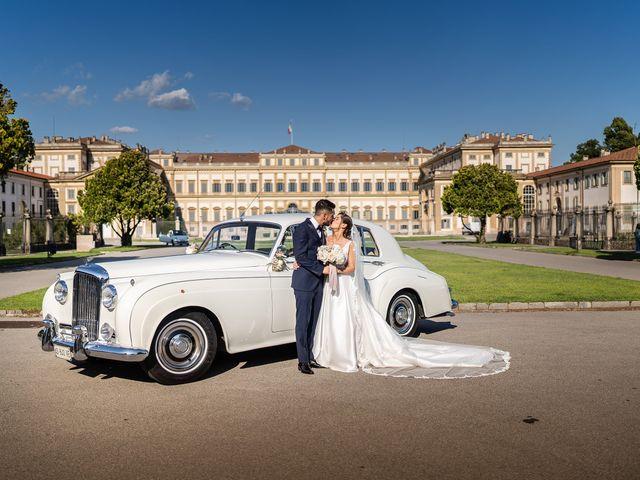Il matrimonio di Francesco e Martina a Stezzano, Bergamo 29