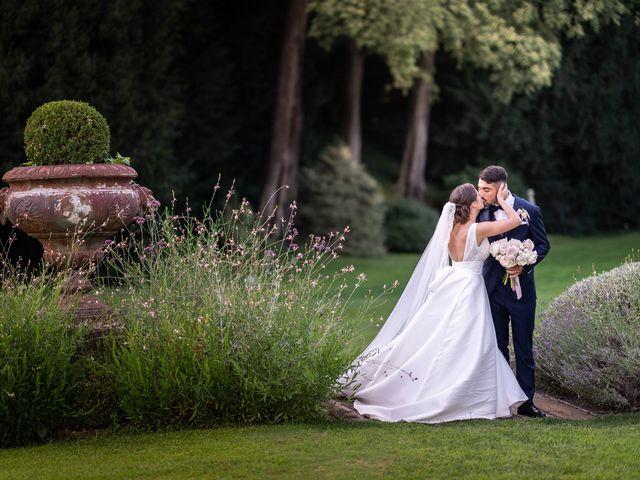 Il matrimonio di Francesco e Martina a Stezzano, Bergamo 43