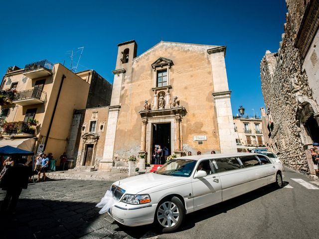 Il matrimonio di Carmelo e Maria a Taormina, Messina 8
