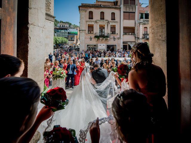 Il matrimonio di Carmelo e Maria a Taormina, Messina 10