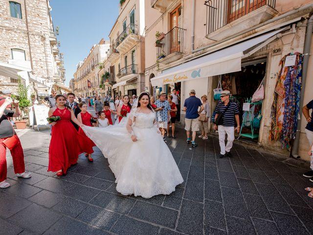 Il matrimonio di Carmelo e Maria a Taormina, Messina 12