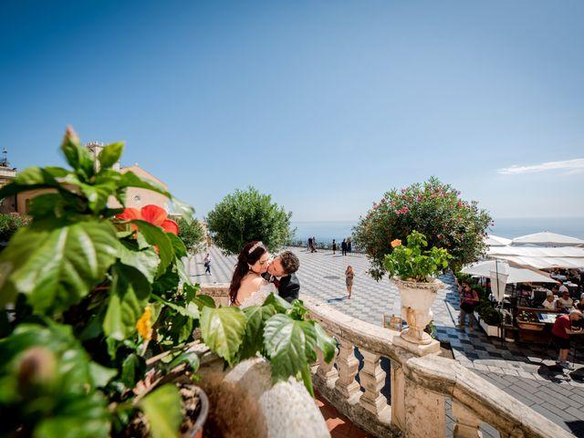 Il matrimonio di Carmelo e Maria a Taormina, Messina 13