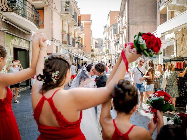 Il matrimonio di Carmelo e Maria a Taormina, Messina 35