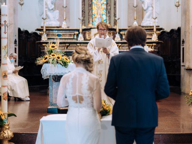 Il matrimonio di Michele e Valentina a Mesero, Milano 36