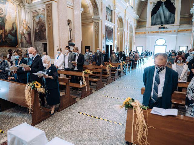 Il matrimonio di Michele e Valentina a Mesero, Milano 43